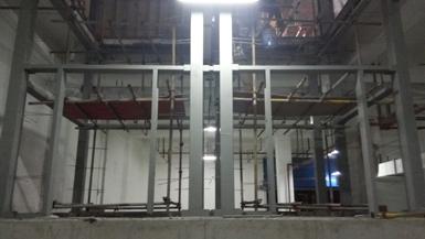 四,柱增加钢结构加固